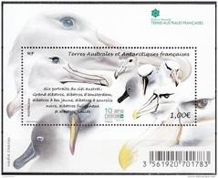 TAAF 2016 Bloc Feuillet Albatros Neuf ** - Blocs-feuillets
