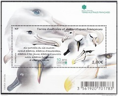 TAAF 2016 Bloc Feuillet Albatros Neuf ** - Blocks & Kleinbögen