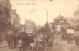 Verviers - Place Verte (top Animation, 1909...tache) - Verviers