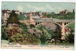 Suisse // Schweiz // Switzerland // Vaud  //  Lausanne, Le Pont Chauderon Et Le Tribunal Fédéral - VD Vaud