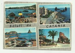 SALUTI DA CATANIA VIAGGIATA  FG - Catania