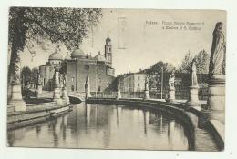 PADOVA - PIAZZA VITTORIO EMANUELE II E BASILICA S.GIUSTINA VIAGGIATA FP - Padova