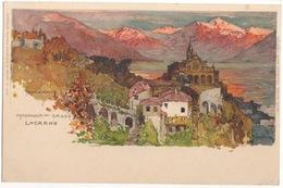 CPA Illustrateur WIELANDT - MADONNA Del SASSO - LOCARNO - Wielandt, Manuel