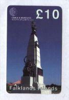 Falkland Islands - Prepaid - Battle Monument - Falkland Islands