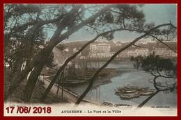 Audierne * Le Port Et La Ville édition Combier Macon - Audierne