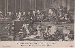 JUSTICE - MADAME STEINHEIL DEVANT LA COUR D'ASSISES - Evénements