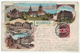 Suisse // Schweiz // Switzerland // Vaud  //  Lausanne, (litho) - VD Vaud
