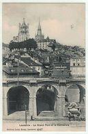 Suisse // Schweiz // Switzerland // Vaud  //  Lausanne, Le Grand Pont Et La Cathédrale - VD Vaud