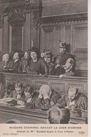 JUSTICE - ATTITUDE DE MADAME STEINHEIL DEVANT LA COUR D'ASSISES - Evénements