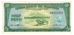 Philippines, Half Peso (50 Centavos) 1949, P-132. AUNC. - Philippines