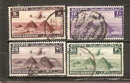 Egipto - Egypt. Nº Yvert  Aéreo-25-28 (usado) (o) - Poste Aérienne
