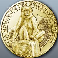 67 KINTZHEIM LA MONTAGNE DES SINGES MÉDAILLE ARTHUS BERTRAND 2012 JETON MEDALS TOKENS COINS - 2012