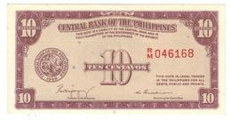 Philippines,  10 Centavos 1949, P-128a. (W&S) AUNC/UNC - Philippines