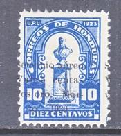HONDURAS  C 26  *   OVPT.  SHIFT - Honduras