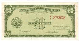 Philippines,  20 Centavos 1949, P-130a. (TDLR) AUNC. - Philippines