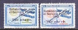 HONDURAS  C 114, C 116    (o) - Honduras