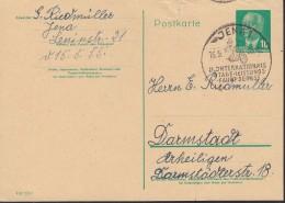 DDR  P 57 A,  Gebraucht, Sonderstempel: Jena II. Int. 4 Tage-Leistungsfahrt 16.5.1955, Motorrad - Postkarten - Gebraucht