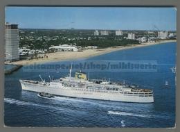 V4885 NAVIGAZIONE T-S CARLA C. COSTA LINE Nave Ship VG Taglietto (m) - Commercio
