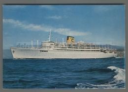 V4886 NAVIGAZIONE T-N ENRICO C. COSTA LINE Nave Ship (m) - Commercio