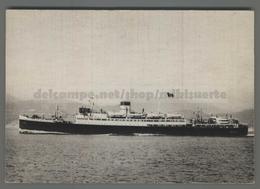 V4888 NAVIGAZIONE MOTONAVE CITTA' DI TUNISI TIRRENIA Nave Ship (m) - Commercio
