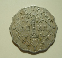 British India 1 Anna 1918 - India