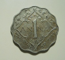 India 1 Anna 1941 - India