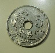 Belgium 5 Centimes 1922 - 1909-1934: Albert I