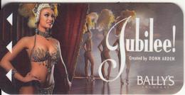 "USA - Donn Arden""s Jubilee, Bally""s(Las Vegas), Hotel Keycard, Used - Hotel Keycards"