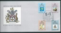 Norfolk Island 1989 Self Government Anniversary Set 4 On Official FDC - Norfolk Island