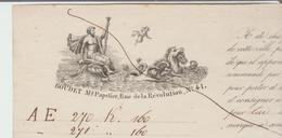 B Du R: Connaissement Maritime MARSEILLE / ALGER Boudet, Vapeur Pharamond De 1849 Transport Balles Tissus TB - 1800 – 1899