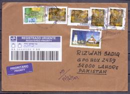 Brazil To Pakistan Used Traveled Cover (EN-01) - Brazil