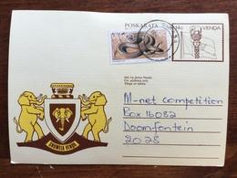 K5 Venda Ganzsache Stationery Entier Postal P 6 Von Sibasa Nach Doornfontein Elefant Elephant - Venda