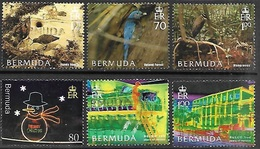 Bermuda  2005-6  6 Diff Better Used - Bermuda