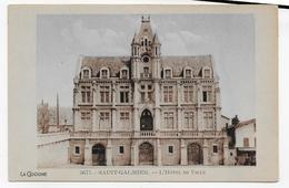 SAINT GALMIER - N° 5671 - L' HOTEL DE VILLE - FORMAT CPA NON VOYAGEE - France