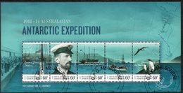 AAT, 2014 ANTARCTIC EXPEDITION MINISHEET CTO - Australian Antarctic Territory (AAT)