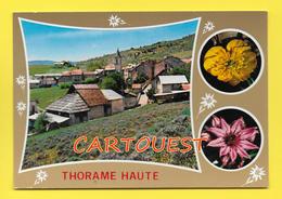 CPSM 04 THORAME HAUTE  Vue Village - Autres Communes