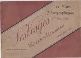 VOSGES 12 VUES PHOTOGRAPHOQIES VALLEE DU RABODEAU ET DE RAVINE LOUIS GEISLER - France