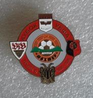 Badge Pin:UEFA CUP 2005-06 Group C - Shakhtar Donetsk, VfB Stuttgart, PAOK, Rapid Bucuresti,Stade Rennais - Football