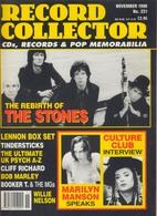 REVUE ANGLAISE RECORD COLLECTOR N° 231   De 1998 : Stones ,     ETC ........... - Objets Dérivés
