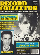 REVUE ANGLAISE RECORD COLLECTOR N° 226   De 1998 : BOWIE    ,     ETC ........... - Objets Dérivés