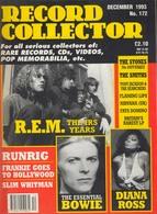 REVUE ANGLAISE RECORD COLLECTOR N° 172   De 1993 :  BOWIE , Diana Ross     ETC ........... - Objets Dérivés