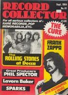 REVUE ANGLAISE RECORD COLLECTOR N° 61   De 1984 : ROLLING STONES      ETC ........... - Objets Dérivés