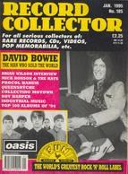 REVUE ANGLAISE RECORD COLLECTOR N° 185  De 1995 :  BOWIE  ETC ........... - Objets Dérivés