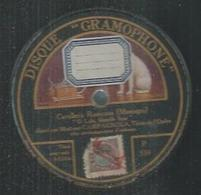 """78 Tours - CAMPAGNOLA  - GRAMOPHONE 539  """" O LOLA, BLANCHE FLEUR """" + """" VIVE LE VIN QUI PETILLE """" - 78 T - Disques Pour Gramophone"""