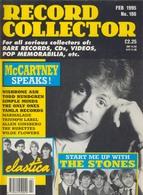 REVUE ANGLAISE RECORD COLLECTOR N° 186  De 1995 : PAUL MC CARTNEY    ETC ........... - Objets Dérivés