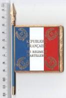 DRAPEAU FANION 32° RA , En Métal - J BALME DEPOSE - Drapeaux