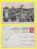 CPA ROMA Tram Ponte Vittorio Emanuele 1931 - Ponts