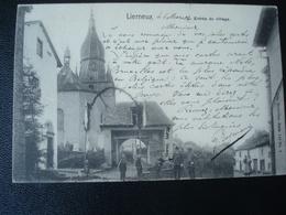 LIERNEUX : Entrée Du Village En 1904 (voir Texte Très Intéressant Sur La Société NELS) - Lierneux