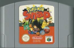 JEU NINTENDO 64 POKEMON SNAP SANS BOITE NI NOTICE - Nintendo 64