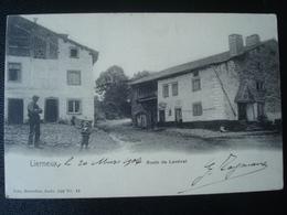 LIERNEUX : Route De LANSIVAL  En 1904 - Lierneux